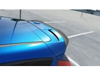 Ford fiesta Mk7 Rear Spoiler Add On Lip