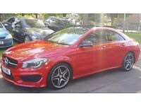 Mercedes CL 2.1 CLA 220 CDI AMG SPORT DCT (red) 2014