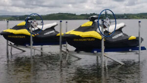 2-2014 SeaDoo Sparks  and Shore Master PWC Lifts for Sale