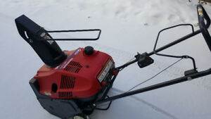 Honda lightweight HS520AS Electric Start like new Honda's snowbl