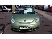 2008 VOLKSWAGEN BEETLE 1.6 Luna Cabriolet From GBP5,695 + Retail Package
