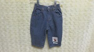 Baby Gap Baby Boy Denim Stripe Pant Size 6-12 Mths