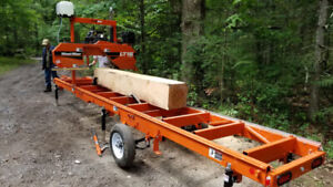 Portable sawmill business for sale