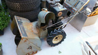 "8HP 24"" MTD Snowflite Snowblower"
