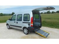 DISABILITY WHEELCHAIR ADAPTED VEHICLE REQUIRED (REAR OR SIDE ENTRY ACCESS) MOBILITY CAR