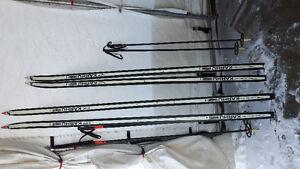 2 paires de skis de fond Karhu Karpor Synthetic
