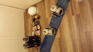 Full Snowboard Set