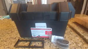 Schumacher Electric Marine Battery Box  NEW!