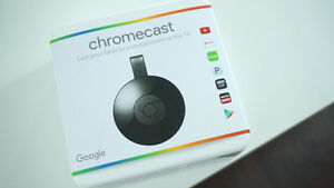 Brand New Google Chromecast 2nd generation in sealed box West Island Greater Montréal image 5