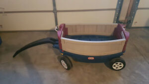 Wagon (Little Tikes Deluxe Ride and Relax Wagon)