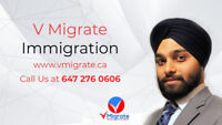 V Migrate Immigration - Work Permit | PNP | Express Entry