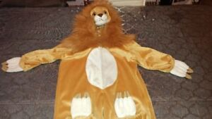 costume halloween lion 3 ans/4 ans