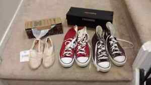 One pair of Converse shoes for sale