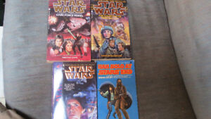Star Wars books(4) 1981-1995
