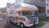 1985 Class C Shasta 24 ft Chevy G30 chassis