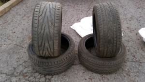 PNEU TIRES AUDI BMW Pair: 225 45R18 95W Pair: 265 35 ZR 18 97W