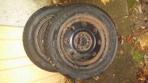 185/60 R14 Nokian Hakkapelliitta Winter Tires With Rims