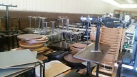 Restaurant Chairs, Tables and Much More - New and Used for Sale