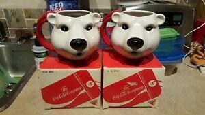 Vintage Coke Coca Cola Polar Bear Mug  With original boxes Edmonton Edmonton Area image 3