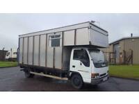 1999 T PLATE ISUZU NQR 4.8 TD HORSE BOX ONLY 40K FROM NEW