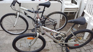 2 used bikes for  SALE for $70
