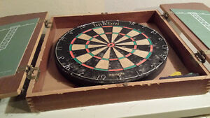 Red Lion Dart Board and Cabinet Kitchener / Waterloo Kitchener Area image 4