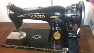 Pre 1940's vintage Singer sewing machine