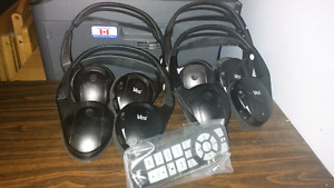 VES Headphones for Chrysler DVD