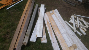 Fence boards and random things