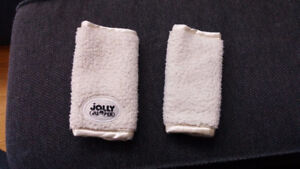 Jolly Jumper Soft Straps for car seat - winter - beige