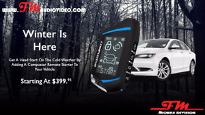 Remote Car Starters (Installed) Beat The Cold!