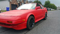 1988 Toyota MR2 supercharged t-top