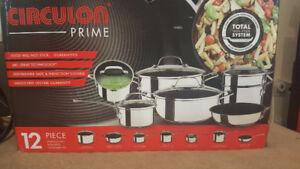 Brand New Circulon Prime Cookware Set