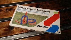 Jeux de Fers a Cheval Vintage de Irwin Sports 1981 !