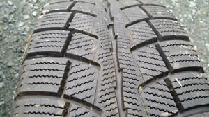 215/55/16 Winter tires on rims for sale