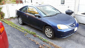 2003 Honda Civic LX Coupe (GOOD 4 PARTS ONLY)
