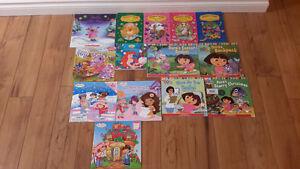 little girl book lot