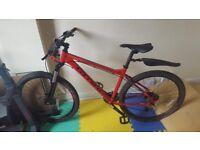 Carrera Kraken Mountain bike for sale REDUCED