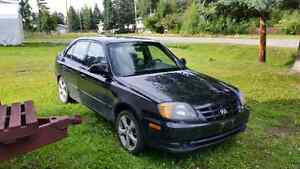 2006 Hyundia Accent 4 cyl 5 speed