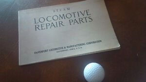 Steam Locomotive Repair Parts, Davenport Locomotive