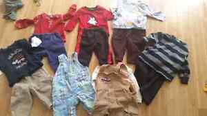 0-3 and 3-6 months baby clothes.