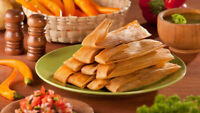 Selling delicious home made Mexican tamales!