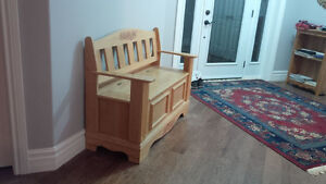 Handcrafted Deacon Bench - NEW Kitchener / Waterloo Kitchener Area image 7