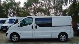 2011 VAUXHALL VIVARO 2.0 CDTI [115PS] LWB Sportive Crew Cab VAN