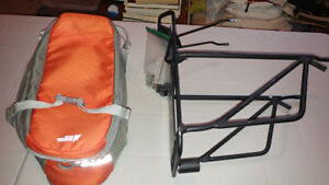 Bike Rack and bag