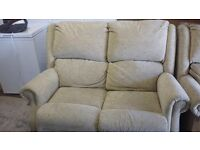 Sofa - REDUCED 2 seater sofa with two matching arm chairs