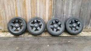 Rims and snow tires