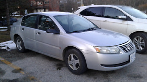 2005 Saturn ion. Cert and Etested