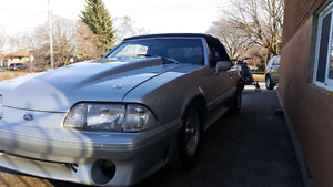 1988 Mustang GT convertable