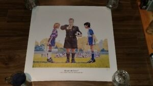 Soccer Print from the Saskatchewan Soccer Association